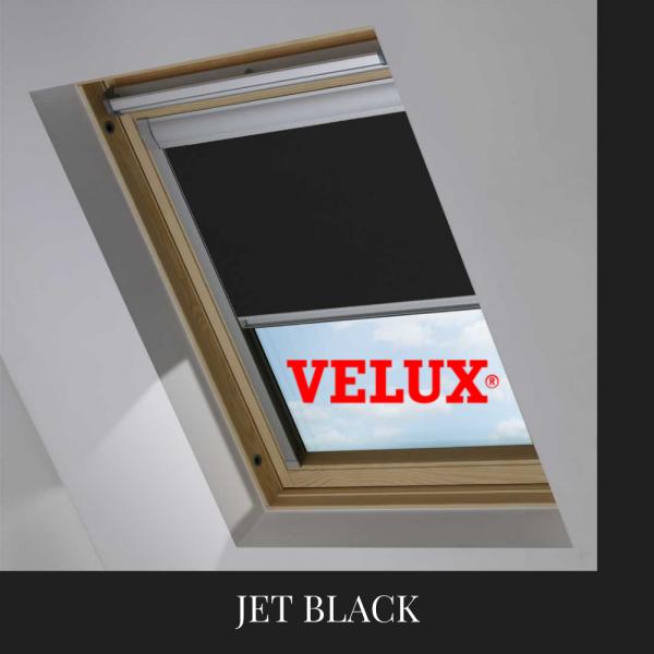 Velux Blind Jet Black